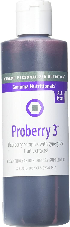 D'Adamo Personalized Nutrition Proberry 3 8 Fl oz
