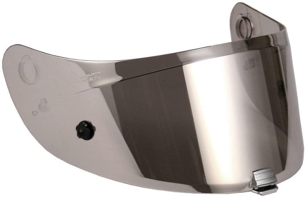 HJC HJ-20P RPHA 10+ Motorcycle Helmet Replacement Pinlock Visor - Iridium Silver