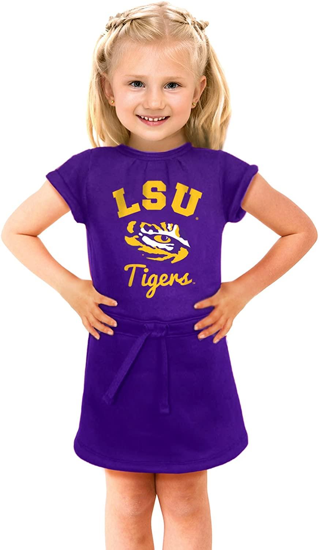 NCAA LSU Tigers Girls Cold Night Dress, 6-12 Months, Purple