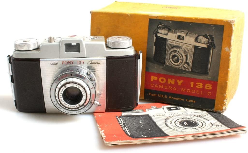 Vintage Film Camera//Pony 135 Camera in Original Box