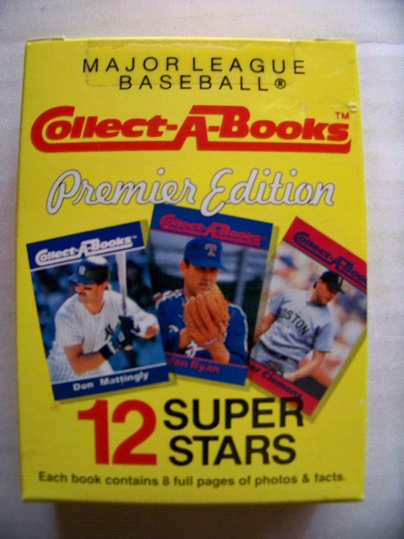 1990 Major League Baseball Collect-A-Books Premier Edition Series I Set (Box 1, 2, 3)
