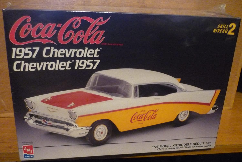 Coca-Cola 1957 Chevrolet---Plastic Model Kit