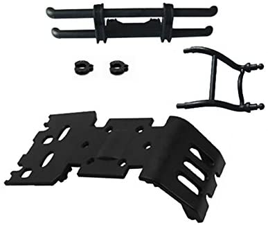 HBX Part 3318A-P002 Rear Bumper + Mount for 1/8 Scale RC Model Truck Buggy