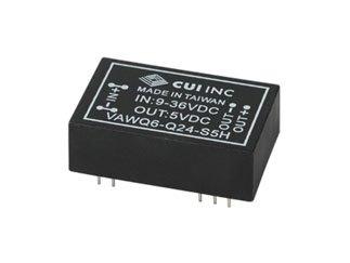 CUI Inc VAWQ6-Q24-S15H VAWQ6 Series 400 mA 6 W 15 V Single Output DC/DC Isolated Converter - 64 item(s)
