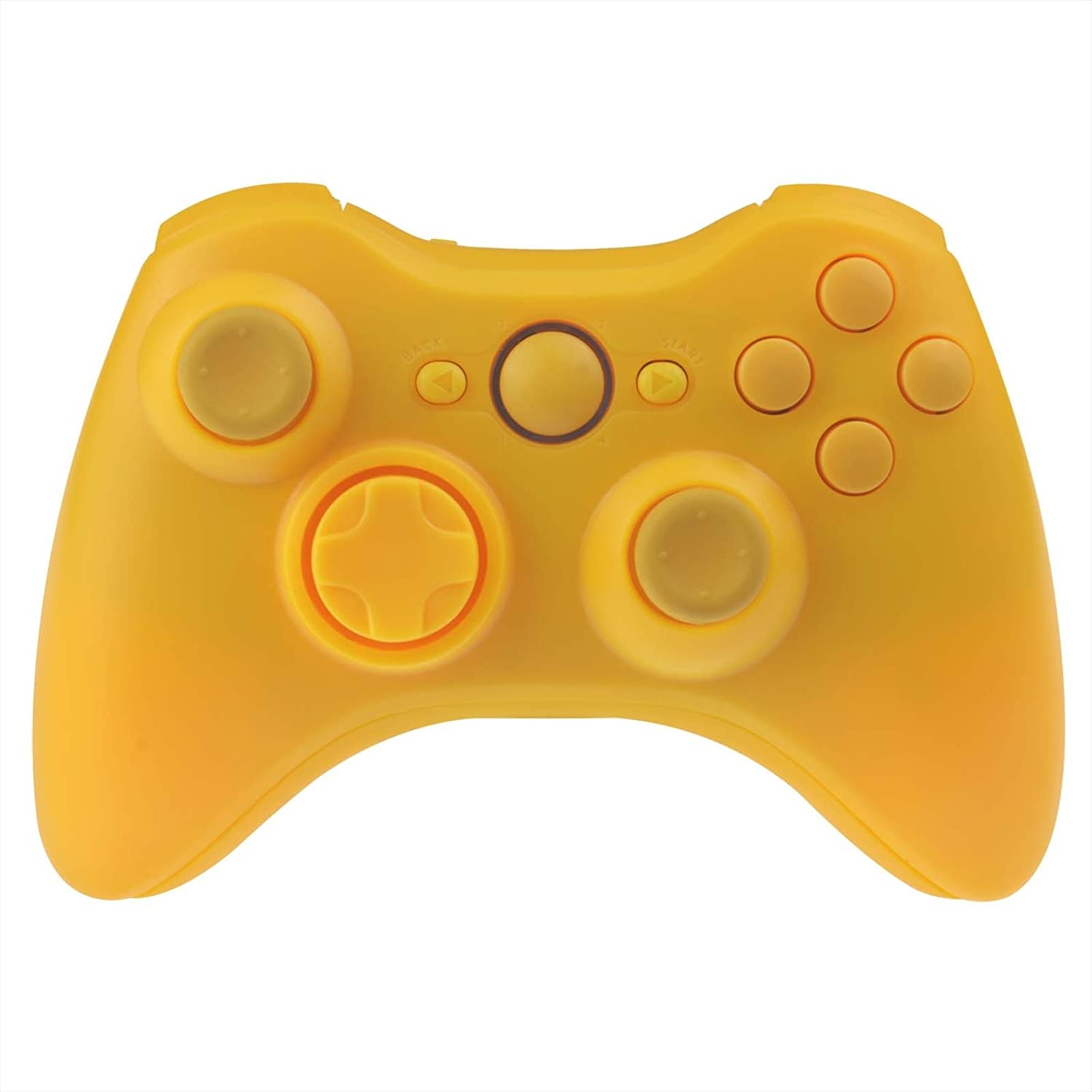 Wireless Controller Shell for Xbox 360 - Matte Yellow