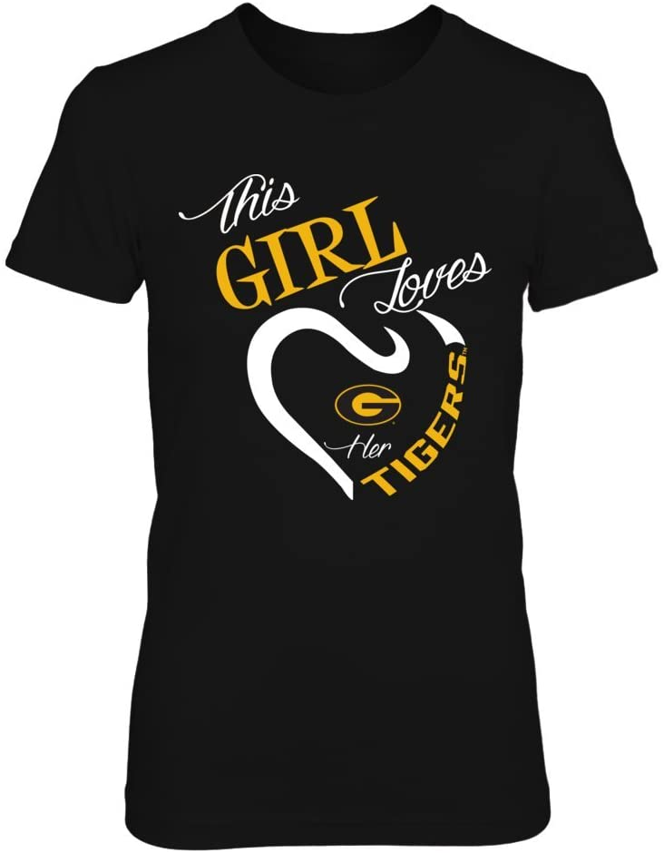 FanPrint Grambling State Tigers Hoodie - This Girl Loves Her Team