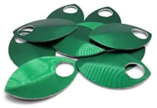 Large Scalemail Armor Scales - Anodized Aluminum in Multiple Colors (Green)
