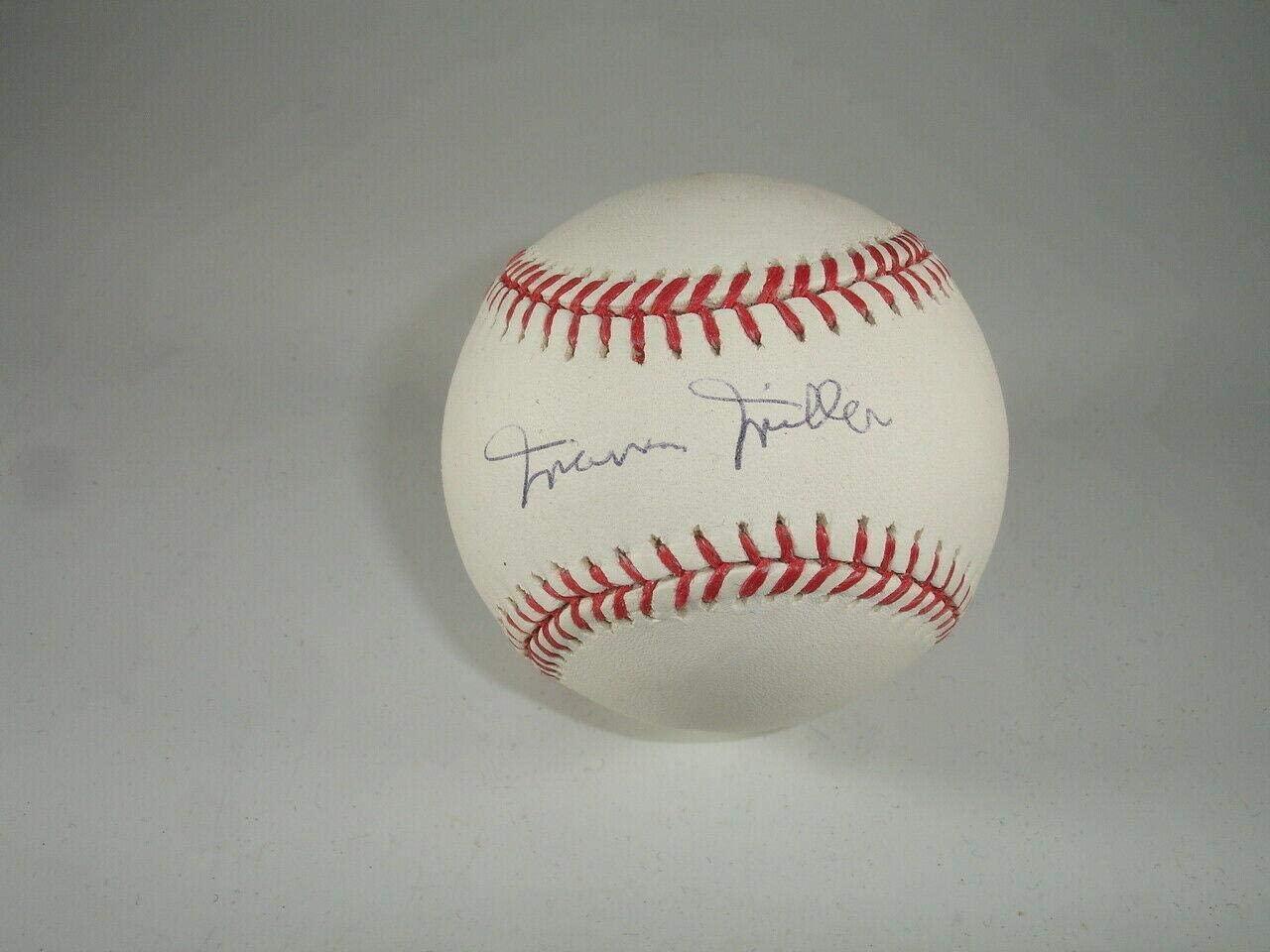Signed Marvin Miller Baseball - HOFer Single Official Major League w hologram - Autographed Baseballs