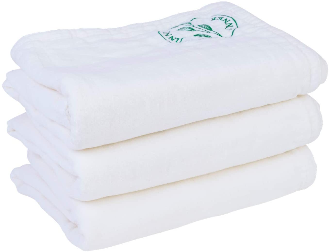 JINNEE Natural Cotton 100% Eco-Friendly South Korea Sochang Towel 3Piece Washcloths