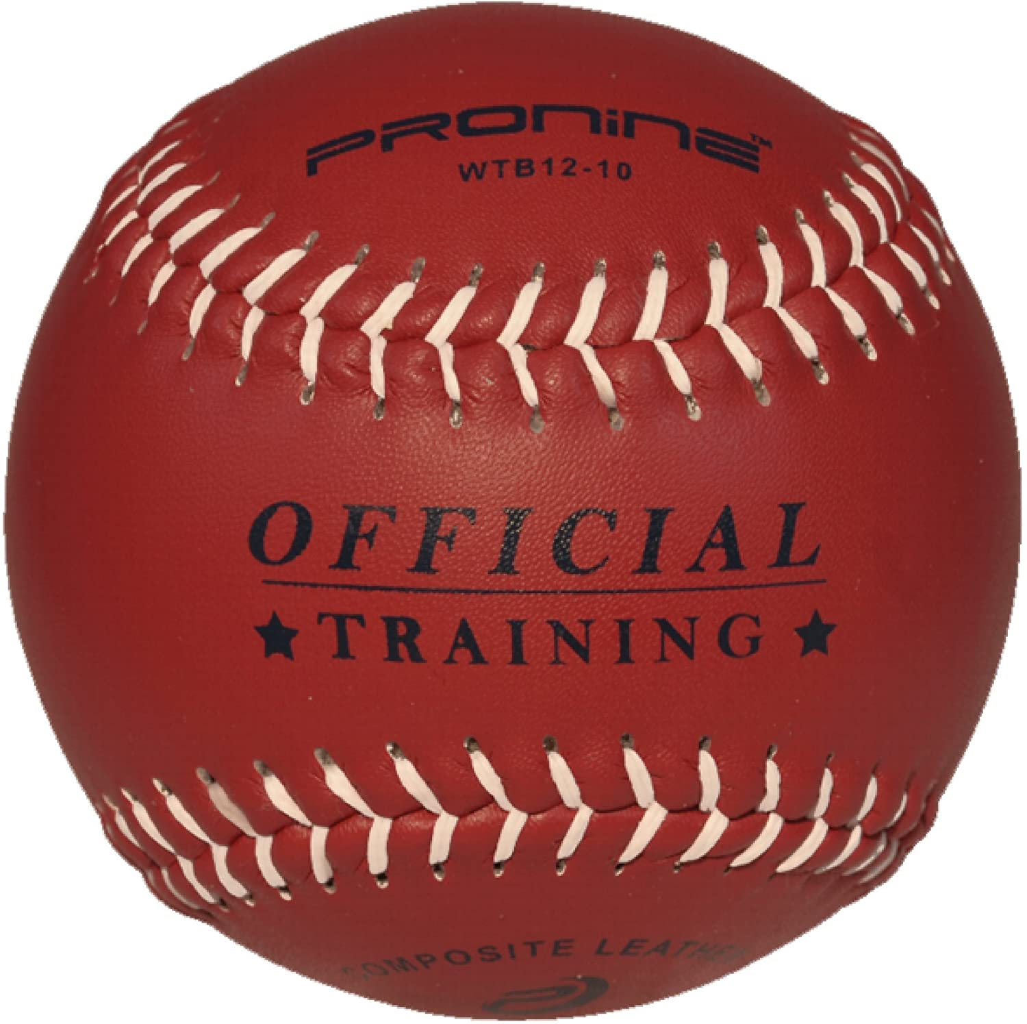 ProNine Weighted Softball for Pitching Practice 12 Inch (10 Oz.) Ball
