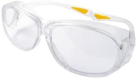 ERB 15656-12 OTG (Over The Glass) Anti-Fog Lens, Clear Frame (12-Pack)