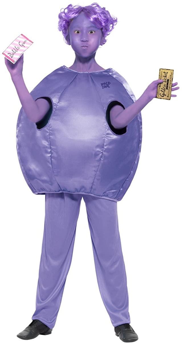 Roald Dahl Deluxe Violet Beauregarde Costume