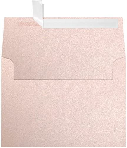 A7 Invitation Envelopes (5 1/4 x 7 1/4) - Coral Metallic - Stardream (50 Qty.) | Perfect for Invitations, Announcements, Sending Cards, 5x7 Photos | 5380-M207-50