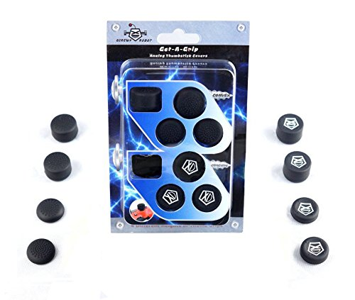 Get-A-Grip Analog Thumbstick Grip Covers for PS4/PS3 by ScrewyRobot™