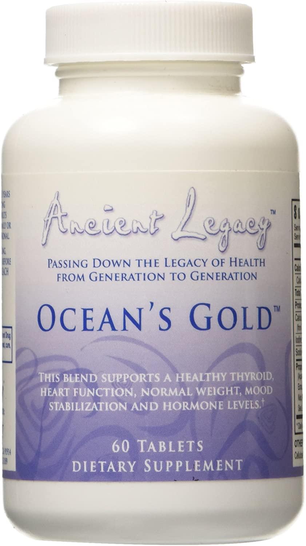 ANCIENT LEGACY OCEAN'S GOLD – 60 CAPLETS