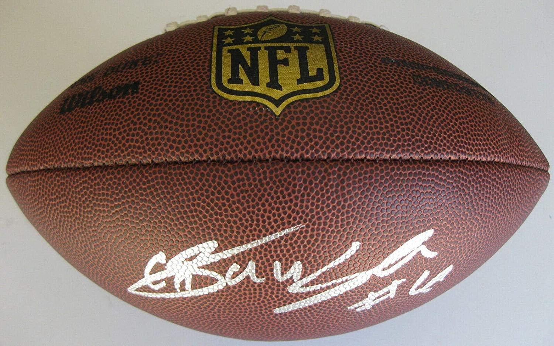Chad Hansen,new York Jets, Cal Bears,signed,autographed,duke Football,coa,proof - Autographed College Footballs