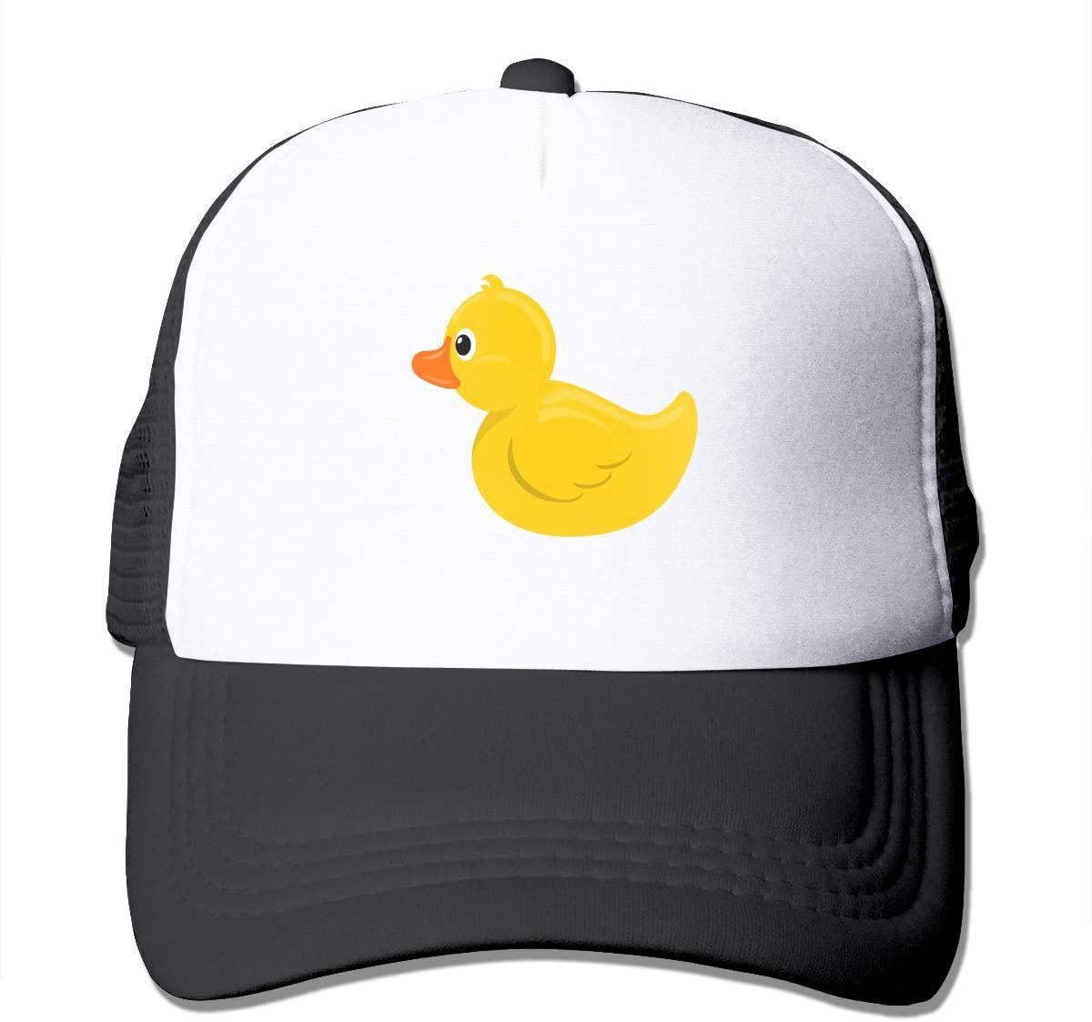 Adult Trucker Hat Cute Duck Custom Mesh Caps