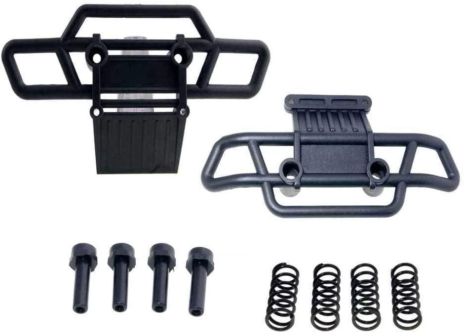 Toyoutdoorparts RC 08002 08062 Plastic Front/Rear Bumper for Redcat 1:10 Volcano S30 Nitro Truck