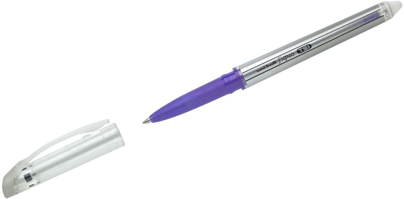 uni-ball TSI Erasable Pen - Violet