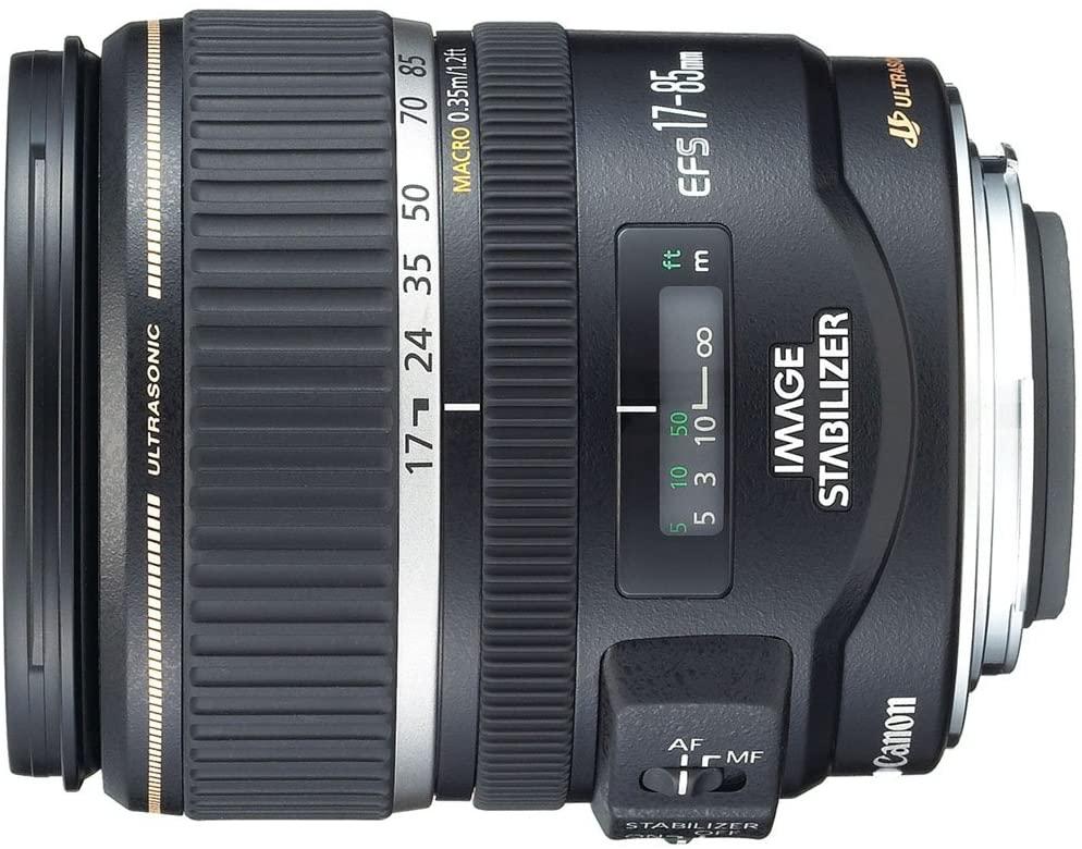 Canon EF-S 17-85mm f/4-5.6 Image Stabilized USM SLR Lens for EOS Digital SLR's - White Box (Bulk Packaging)
