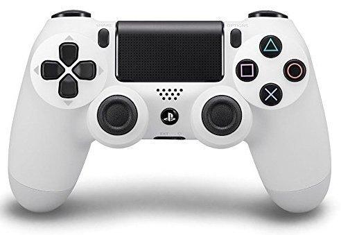 White PS4 Custom Modded Controller Exclusive Design 35 Mods COD Advanced Warfare, Destiny,Ghosts Quick Scope Auto Run Sniper Breath and More