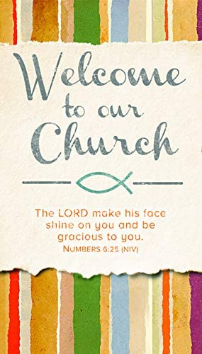 Welcome to Our Church - Welcome/Visitor Card