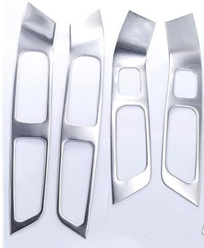 Tuavit carMagnet: for Volvo XC60 S60 V60 Stainless Steel Inner Door Armrest Window Lift Button Cover Interior Trim 7pcs / Set car Styling