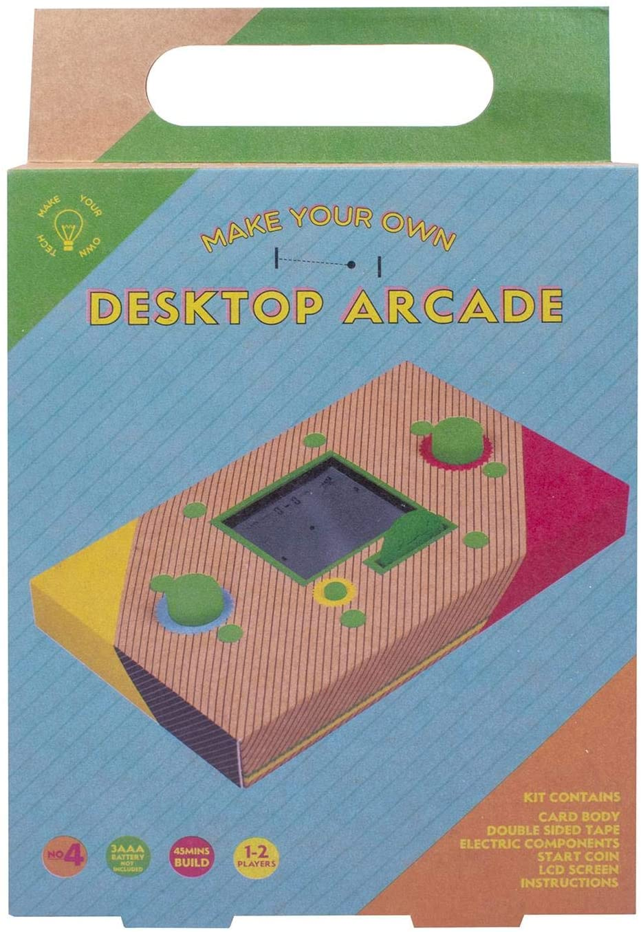 Fizz Creations 1790 Make Your Own Desktop Arcade Kit