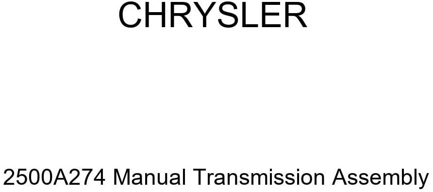 Genuine Chrysler 2500A274 Manual Transmission Assembly