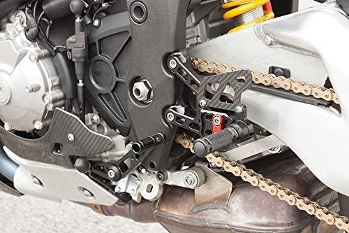 Motorize LSL 2-Slide Catch System YZF-R1 17-, Fixing Piece red