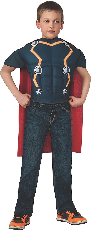 Avengers Assemble Marvel Thor Muscle Chest Shirt Child Costume