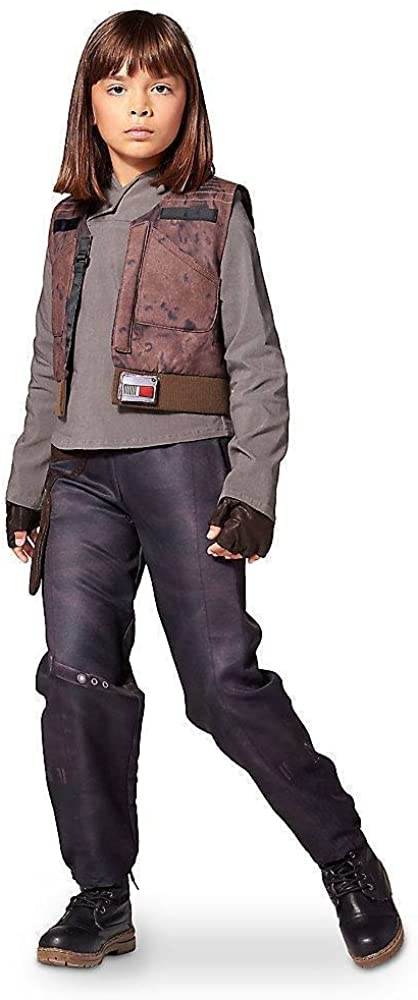 DISNEY STORE STAR WARS ROGUE ONE SGT JYN ERSO COSTUME ~ GIRLS (7/8)