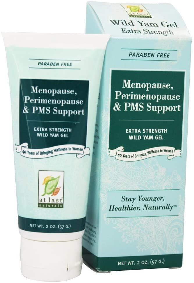 Wild Yam Gel Extra Strength Menopause, Perimenopause & PMS Support 2 oz