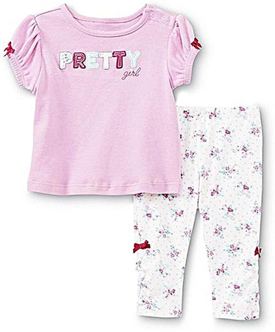 Little Wonders Pretty Girl Shirt & Leggings 2 Piece Set