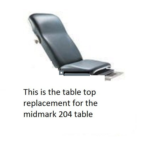 Midmark Corporation 002-0870-231 Uph 204 Soft Touch Navy Rf Top Ea