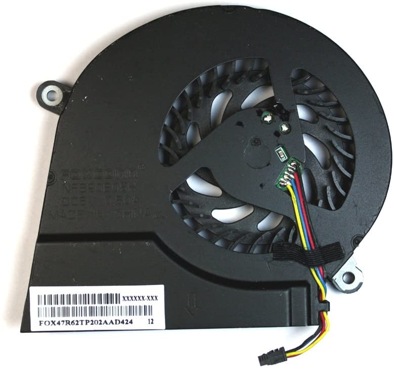 Power4Laptops Replacement Laptop Fan for HP Pavilion 17-E135NR, HP Pavilion 17-E137CL, HP Pavilion 17-e139eb, HP Pavilion 17-e139sb, HP Pavilion 17-E140NR