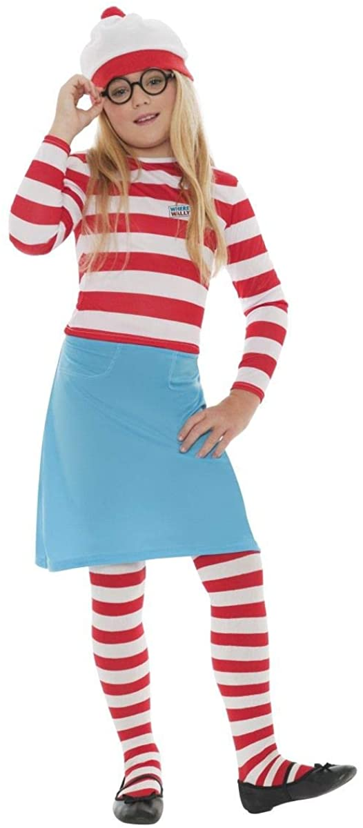 Boys Girls Child's Hide & Seek Book Day Fancy Dress Costume Outfit 4-12 Years (7-9 Years, Girls)
