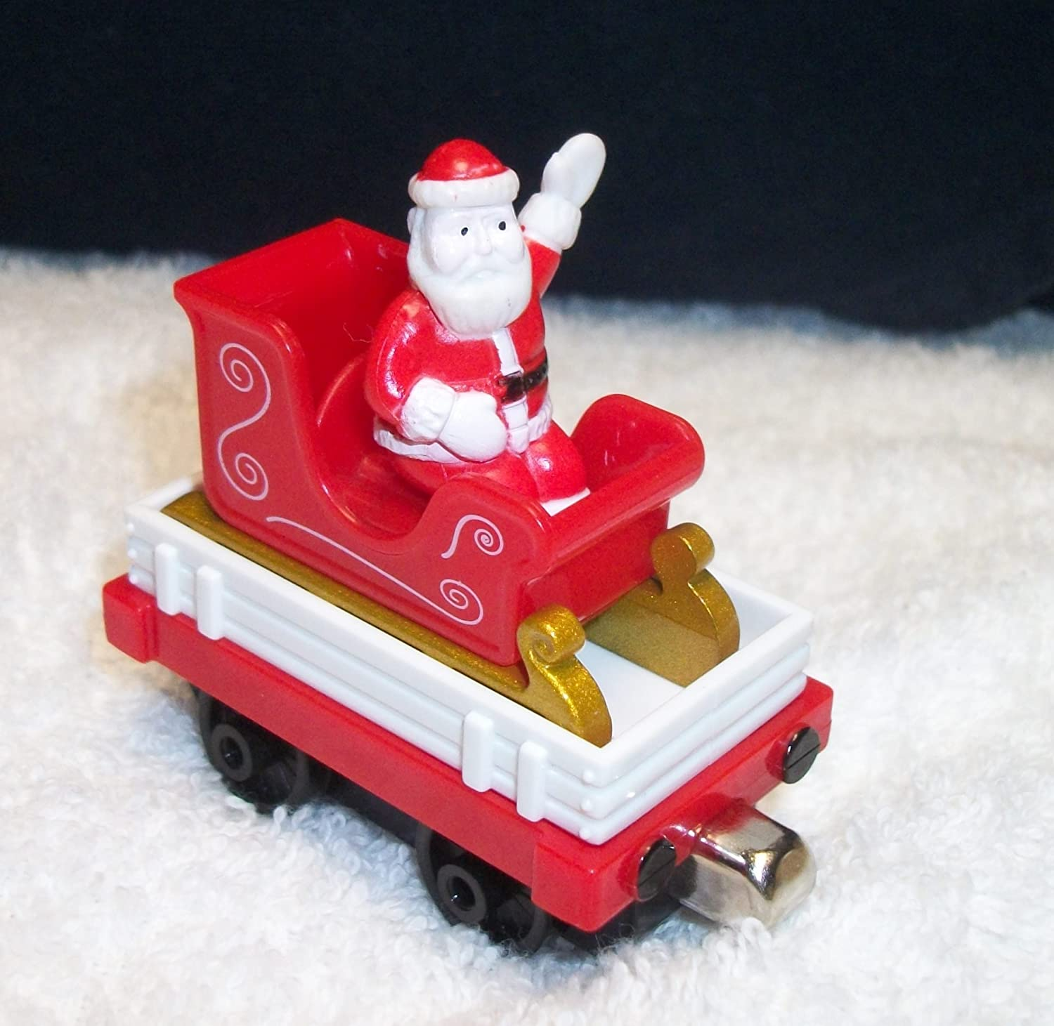 FF Santa Magnetic Metal Train Car(LOOSE) FREE Wooden train with each Purchase of This Santa!