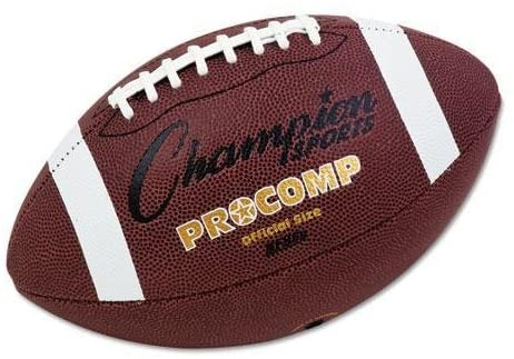 CHAMPION CF100 Pro Composite Football, Official Size, 22