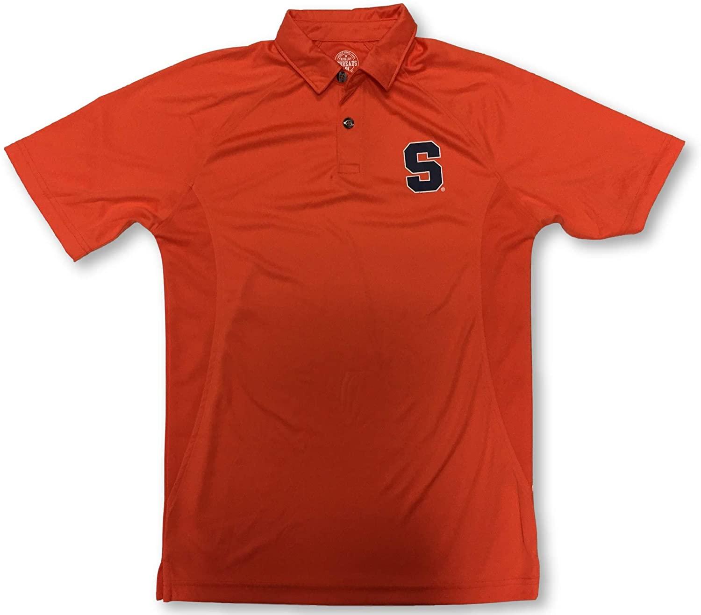 Rivalry Threads Syracuse Orange Men's 2 Button Dri Fit Polo Shirt