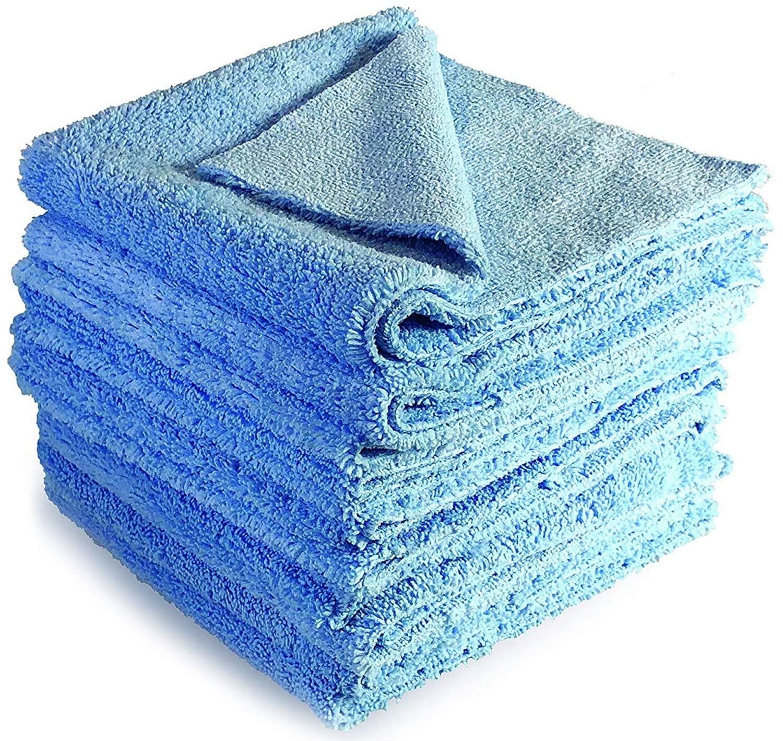 VViViD Yeti Rags Two-Sided Microfiber Chamois Towel (10 Rag Pack)