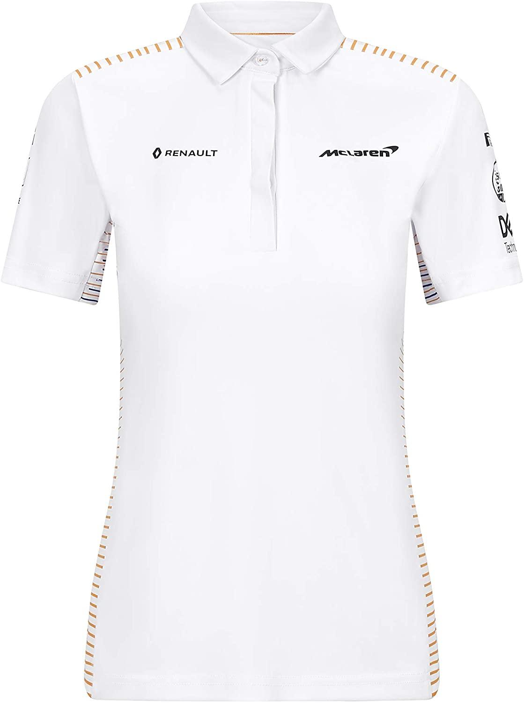 McLaren F1 2020 Women's Team Polo White (XL)