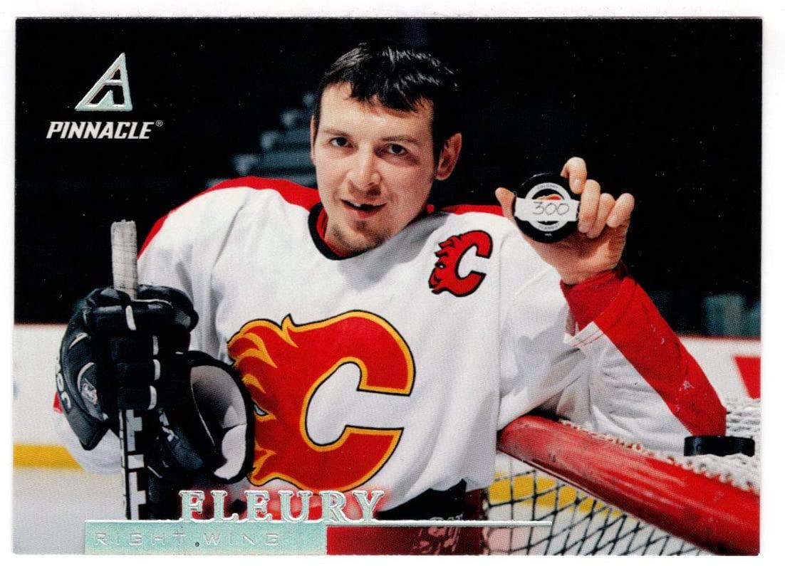 Theo Fleury - Calgary Flames (Hockey Card) 1997-98 Pinnacle # 103 NM/MT