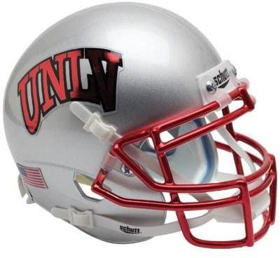 UNLV Rebels Chrome Mask Officially Licensed XP Authentic Football Helmet