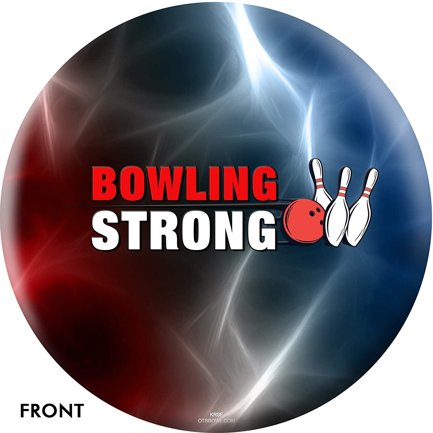 On The Ball Bowling Bowling Strong USA Get The Ball Rolling Bowling Ball