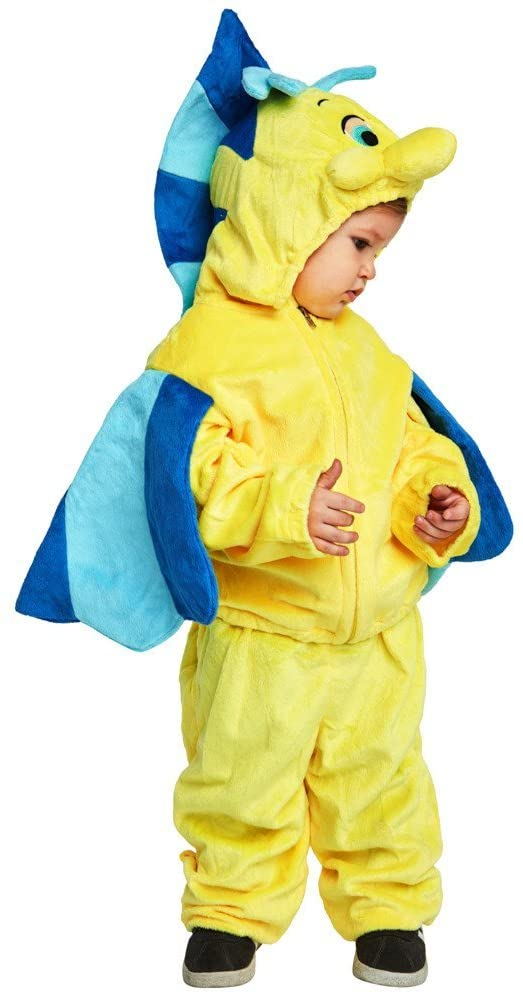 Baby Flounder Fish Costume, Size Infant 12-18 Months