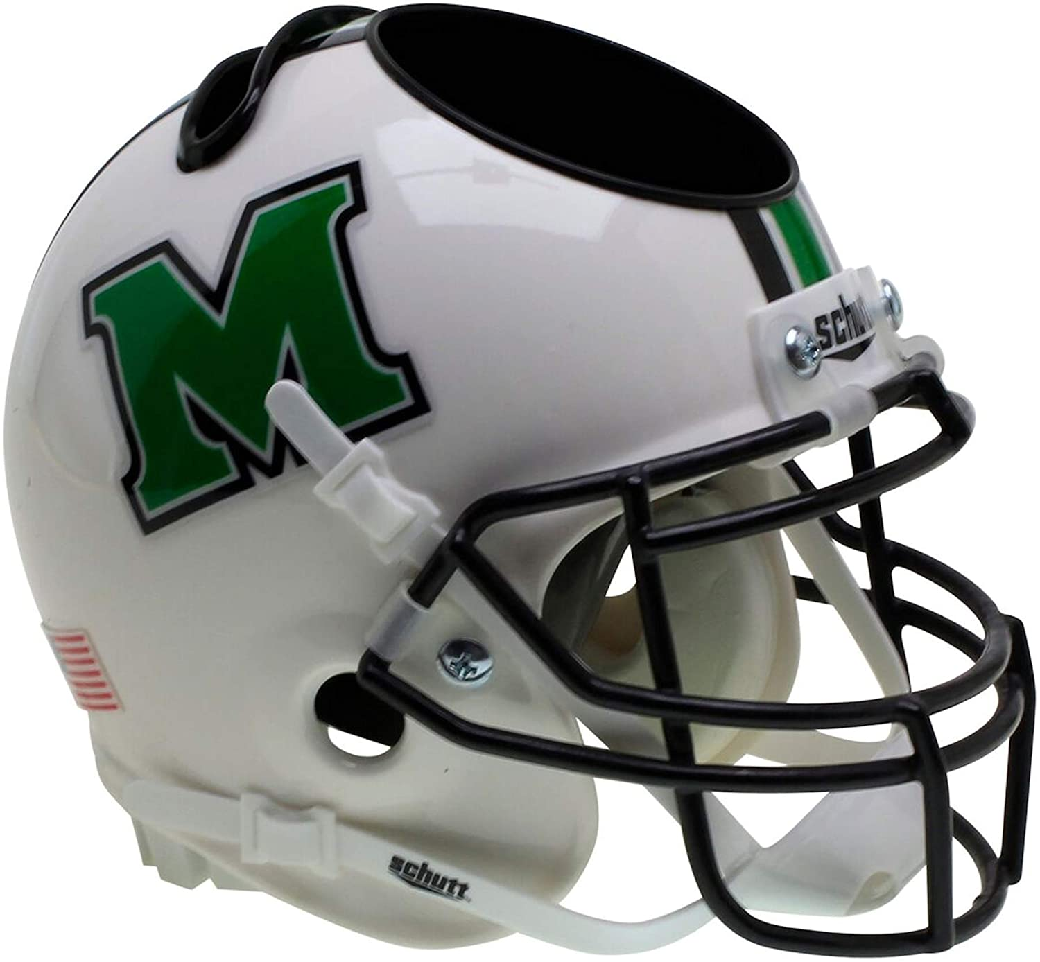 Schutt NCAA Marshall Thundering Herd Football Helmet Desk Caddy