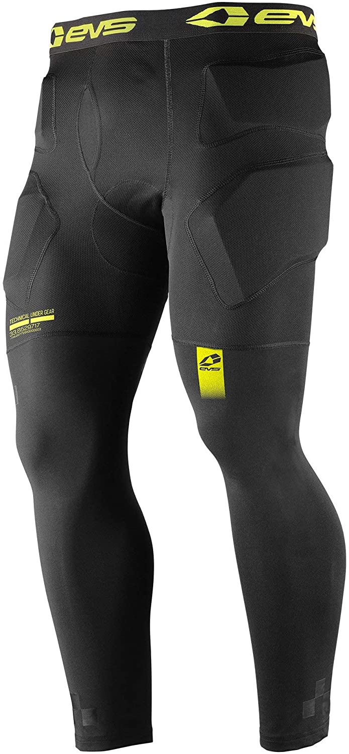 EVS Sports Men's Tug Bottom - Impact 3/4 Pant (Black, Large)