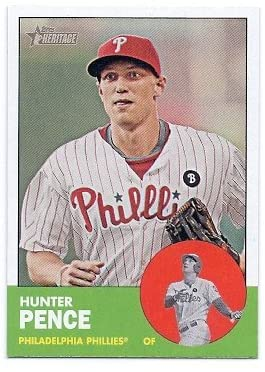 2012 Topps Heritage 268 Hunter Pence Near Mint or better