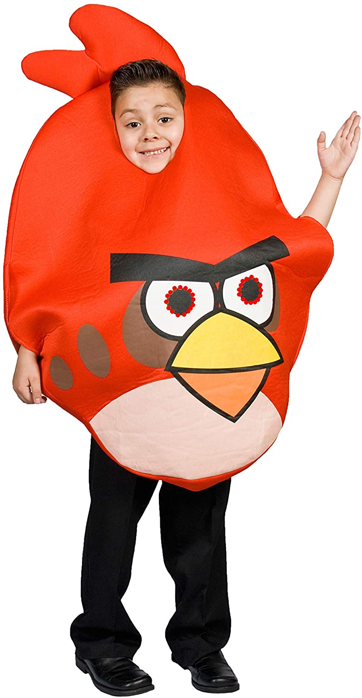 MONIKA FASHION WORLD Angry Bird Costume for Kids Light up Eyes Size 5 6 7 8 9 10 Boys/ Girls (5-8)